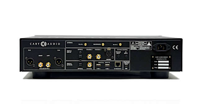 cary audio DMS 500 connectique