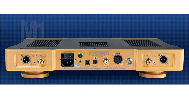 bricasti M1 gold connectique