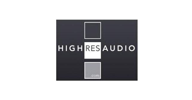 high res audio logo