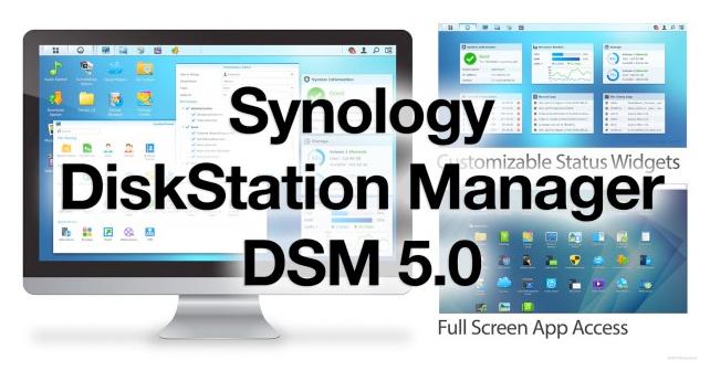 DSM 5.0 synology