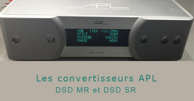 DAC APL DSD MR et DSD SR