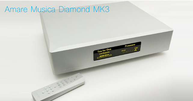 Amare musica diamond MK3 streamer
